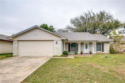 Plano Single Family Home Active Option Contract: 1617 Lorraine Drive