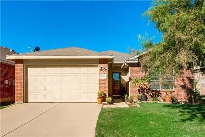 Fort Worth Single Family Home Active Contingent: 3920 Cane River Road