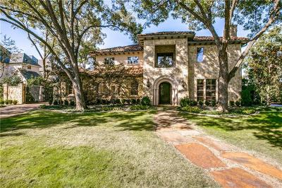 Dallas Single Family Home For Sale: 6441 Northport Drive
