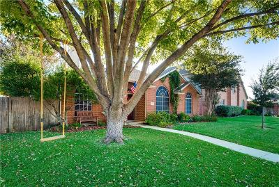 Frisco Single Family Home Active Option Contract: 11309 Canoe Road