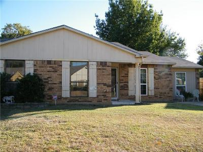 Fort Worth TX Single Family Home For Sale: $115,000