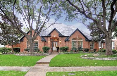 Plano Single Family Home Active Contingent: 6716 Alcove Lane