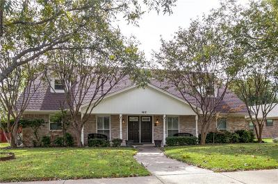 Richardson Single Family Home For Sale: 1412 Ridgemoor Lane