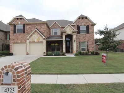 Mansfield Single Family Home For Sale: 4323 Jasmine Lane