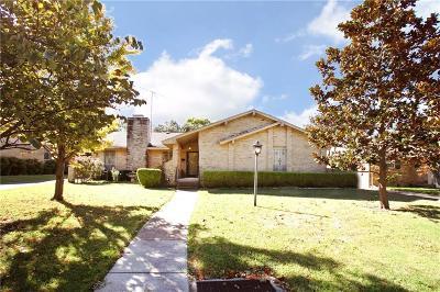 Dallas Single Family Home Active Option Contract: 11156 Carissa Drive