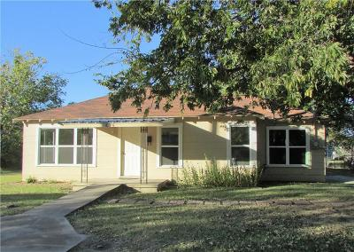 Stephenville TX Single Family Home Active Contingent: $75,000