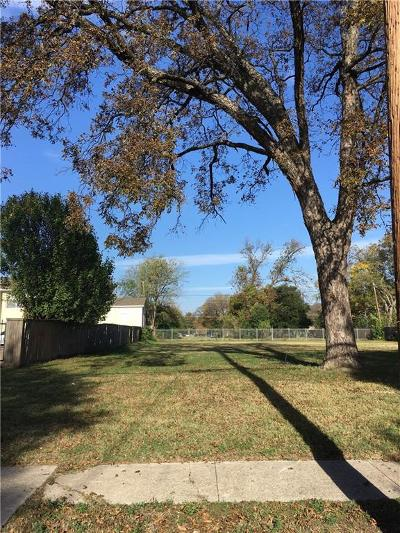 Dallas Residential Lots & Land For Sale: 4631 Junius Street