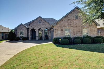Benbrook Single Family Home Active Option Contract: 10921 Golfview Way