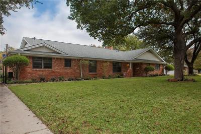 Fort Worth Single Family Home For Sale: 4320 Kirkland Drive