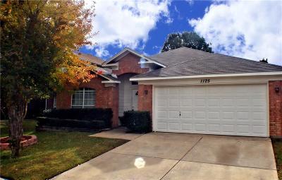 Saginaw Single Family Home Active Contingent: 1125 Victoria Drive