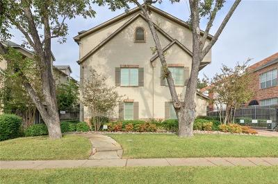 Highland Park, University Park Single Family Home For Sale: 3414 McFarlin Boulevard #4