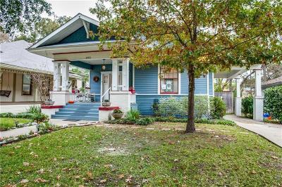 Dallas Single Family Home For Sale: 222 N Winnetka Avenue