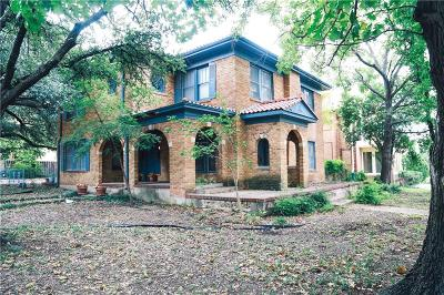 Fort Worth Single Family Home Active Option Contract: 2235 Windsor Place