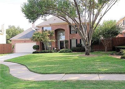 Flower Mound Single Family Home For Sale: 2416 Columbia Drive