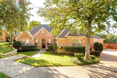 Colleyville Single Family Home Active Option Contract: 4713 Lakewood Drive