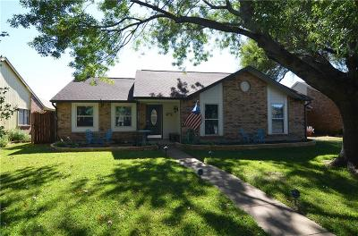 Allen Single Family Home Active Option Contract: 1202 Clearwood Court