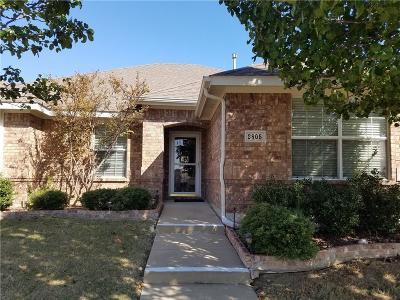 Sachse Single Family Home For Sale: 2805 Pennington Drive