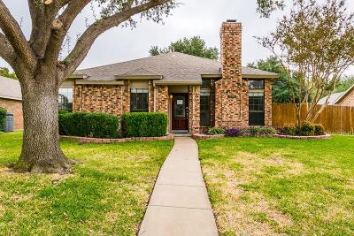 Coppell Single Family Home Active Option Contract: 224 Magnolia Drive