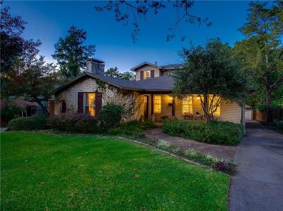 Dallas Single Family Home Active Contingent: 2221 Stevens Woods Lane
