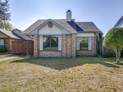 Mesquite Single Family Home Active Option Contract: 1732 Wheatfield Drive