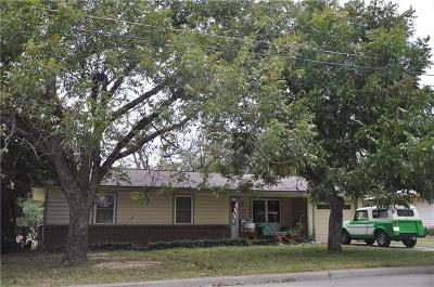 Stephenville TX Single Family Home Active Option Contract: $125,000