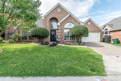 McKinney Single Family Home Active Option Contract: 5116 Quail Ridge Drive