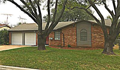 Crowley Single Family Home Active Option Contract: 408 Harvey Street
