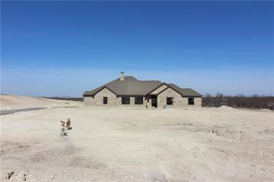 Weatherford Single Family Home For Sale: Lot 9 Pearson Ranch Rd