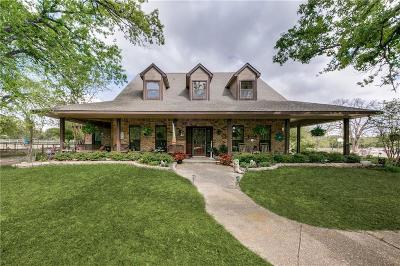 Terrell Single Family Home For Sale: 8095 Wood Lane
