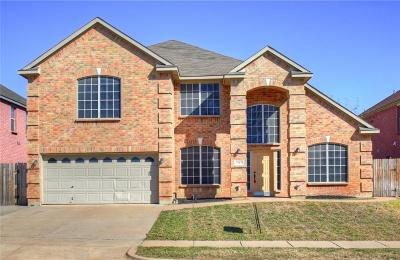 Arlington Single Family Home Active Option Contract: 7717 Longbow Lane