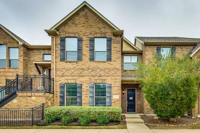 McKinney Townhouse For Sale: 5417 Locust Drive