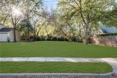 Dallas Residential Lots & Land For Sale: 8739 Glencrest Lane