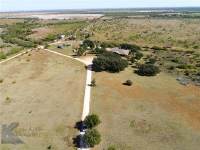Abilene Single Family Home For Sale: 317 County Road 297