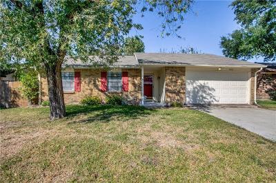 Rowlett Single Family Home Active Option Contract: 6407 Redwood Lane