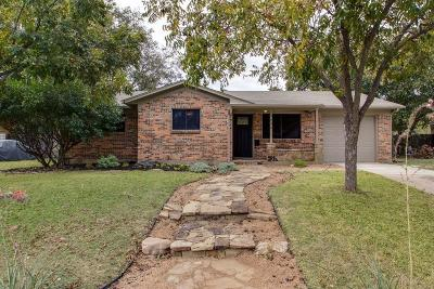 Fort Worth Single Family Home For Sale: 7236 Overhill Road