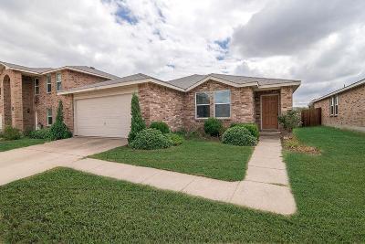 Anna Single Family Home For Sale: 1117 Batt Masterson Drive