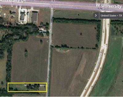 McKinney Single Family Home Active Option Contract: 5201 Bois D Arc Road