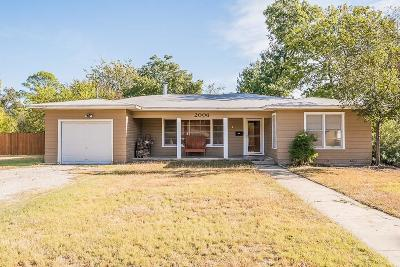 Brownwood Single Family Home Active Option Contract: 2006 4th Street