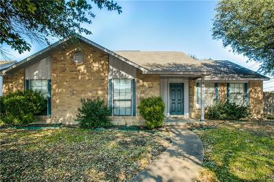 Allen Single Family Home Active Contingent: 541 E Bethany Drive
