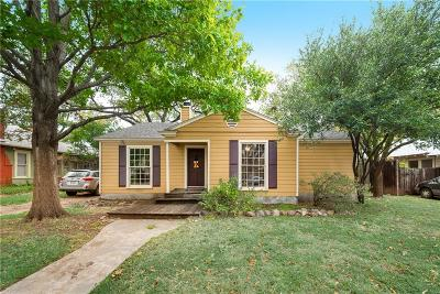 Dallas Single Family Home For Sale: 6032 Worth Street