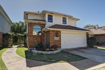 Dallas County, Denton County Single Family Home Active Option Contract: 2108 Rose Cliff Lane