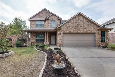 Saginaw Single Family Home Active Option Contract: 821 Sequoia Way