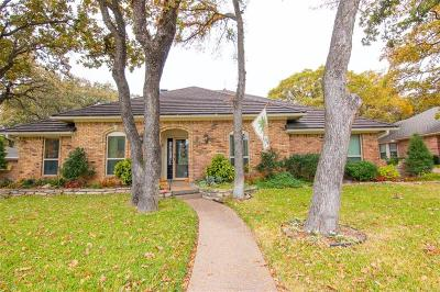 Bedford Single Family Home Active Contingent: 2213 Lakeview Drive