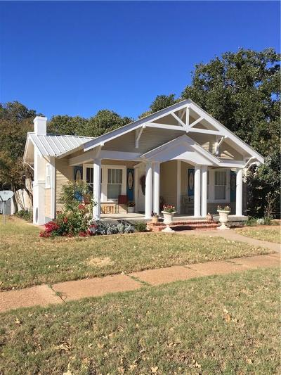 Cisco Single Family Home For Sale: 610 W 5th Street