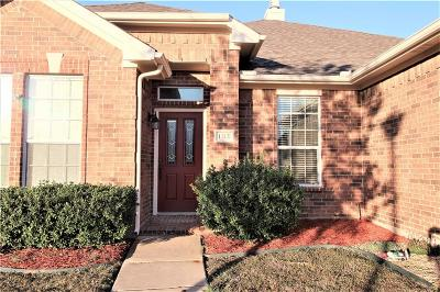 Wylie Single Family Home Active Option Contract: 1312 Luverne Drive
