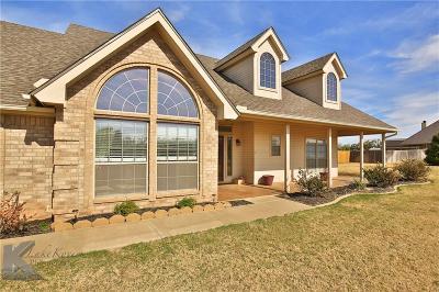 Abilene Single Family Home For Sale: 158 Codybug Road