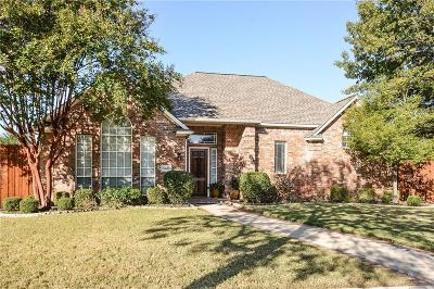 Plano Single Family Home Active Contingent: 8409 Bradford Drive