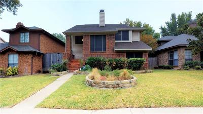 Dallas County, Denton County Single Family Home Active Option Contract: 1726 San Francisco Street