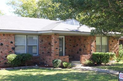 Richland Hills Single Family Home Active Option Contract: 3716 Norton Drive