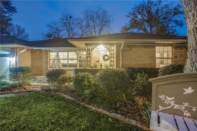 Dallas Single Family Home For Sale: 9634 Cloister Drive